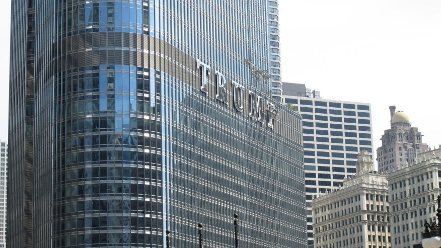 Chicago Trump building photo